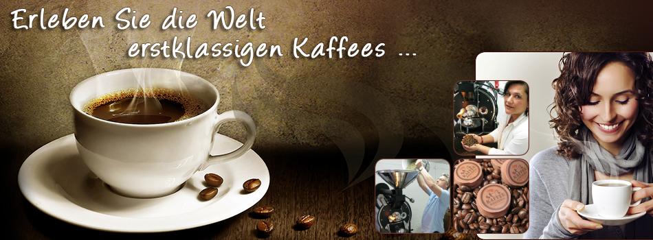 Kaffee Rösterei Banner